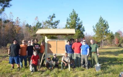 Troop 88 Sign Installation